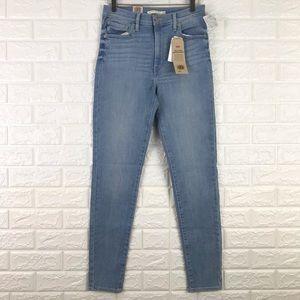 Levi's Mile High Super Skinny Jeans Light Wash 29